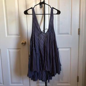 Free People purple tunic